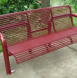Decatur, DCBB, Steel Bench
